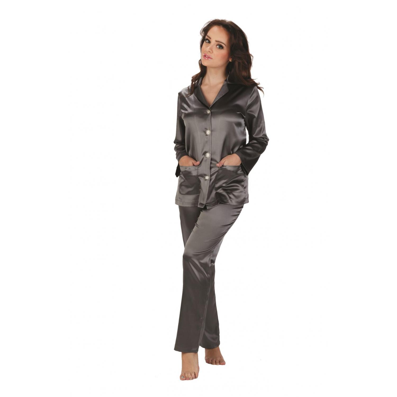 forex lingerie eleganter satin pyjama schlafanzug. Black Bedroom Furniture Sets. Home Design Ideas