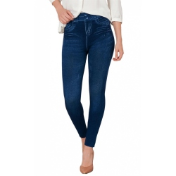 Mia Cossotta bequeme Damen Jeggings in trendiger...