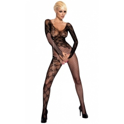 Obsessive Bodystocking F210 schwarz Catsuit Teddy ouvert...