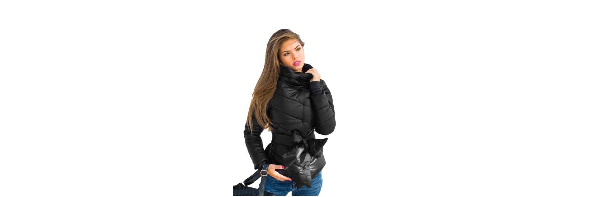 - Eine Jacke als Styling-Wunder