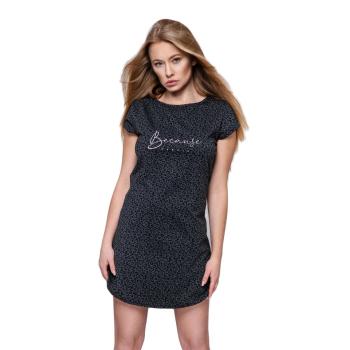 S & SENSIS Baumwoll-Nachthemd Sleepshirt Because,...