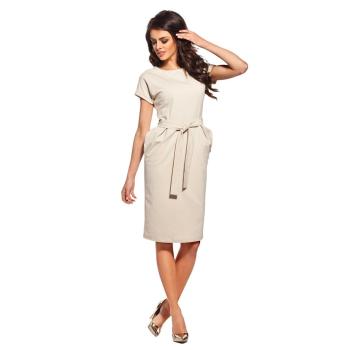 Lemoniade stilvolles Kleid mit kurzen, hochgeschlagenen...