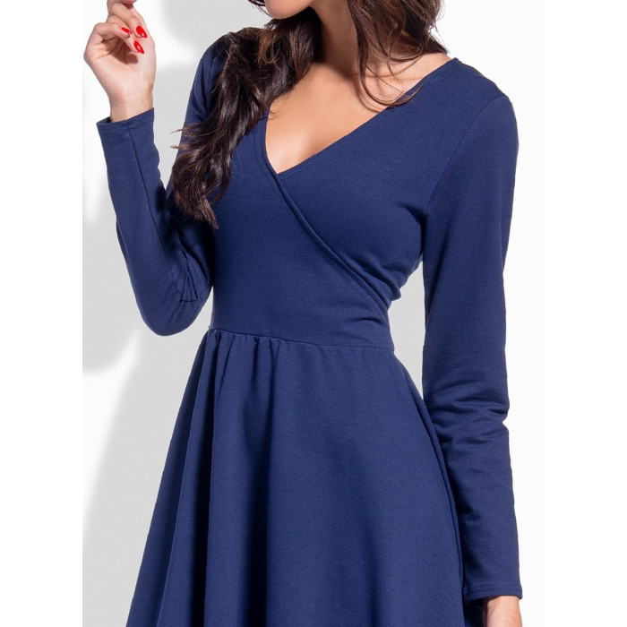 Lemoniade elegantes Kleid mit verführerischem V-Ausschnitt ...