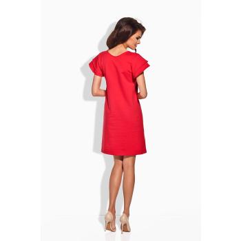Lemoniade elegantes kurzes Kleid mit romantischen Rüschen Made in EU