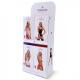 Obsessive Damen Straps-Strümpfe 854 in hübscher Geschenkbox
