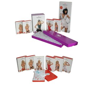 Obsessive Damen Strapsgürtel-Strümpfe 232 in hübscher Geschenkbox, Einheitsgröße S/M/L