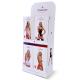 Obsessive Damen Strapsgürtel-Strümpfe 206 in hübscher Geschenkbox, Einheitsgröße S/M/L