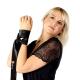 Obsessive Damen BH Set 861 mit Strapsgürtel und exklusiver Satin-Augenbinde