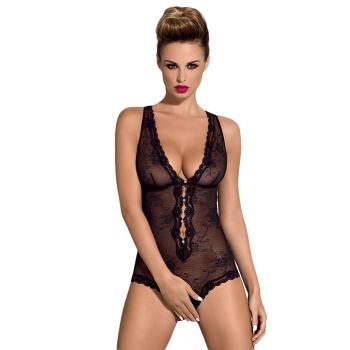 Obsessive Damen Body Ouvert Fiorenta mit...