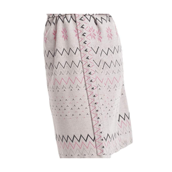 DOROTA Zack Damen trendiger Bademantel mit Taschen & Kapuze
