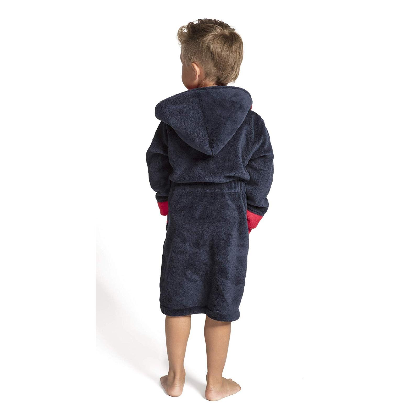 Hawiton Kinder Frottee Bademantel mit Kapuze flauschig Warmer Morgenmantel f/ür Junge und M/ädchen Kinder Bademantel Kinder