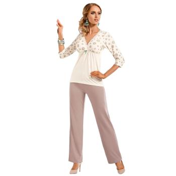 DONNA Fabia Damen Schlafanzug Viskose-Pyjama