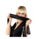 Livia Corsetti Zita Damen Ouvert-Bodystocking mit exklusiver Satin Augenbinde