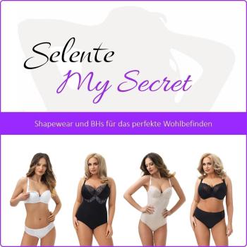 Selente My Secret sbh02 Damen ungepolsterter Still-BH mit Spitze