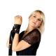 Obsessive Damen Corsage Lovica mit Strapshaltern und exklusiver Satin-Augenbinde