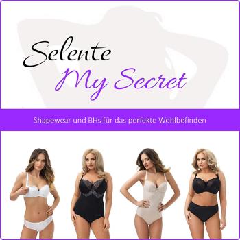 Selente My Secret bh03 Damen gepolsterter BH mit Spitze