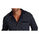 FOREX Lingerie 423 Herren - edler Pyjama Hausanzug aus 100% Baumwolle