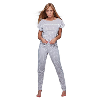 S& SENSIS Noemi Damen Schlafanzug Kurzarm