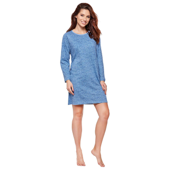 Moonline nightwear Sabella Damen edles Nachthemd aus...