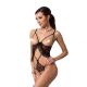 Passion Ouvert-Body Justina Damen mit exklusiver Satin-Augenbinde