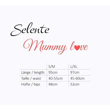 Selente Mummy Love 0134 Damen Umstandshose mit geradem Bein