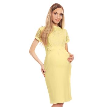 Selente Mummy Love 0127 Damen Umstandskleid mit Spitze
