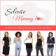 Selente Mummy Love 0144 Damen Umstandskleid ohne Ärmel