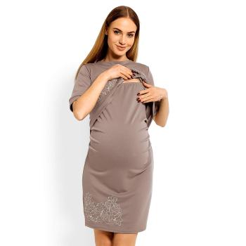 Selente Mummy Love 1623c Damen Umstandskleid mit kurzen Ärmeln