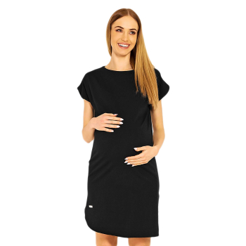 Selente Mummy Love 1629c Damen Umstandskleid mit kurzen Ärmeln