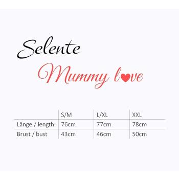 Selente Mummy Love 1474 Damen Umstands-/Stilloberteil 3/4-Arm