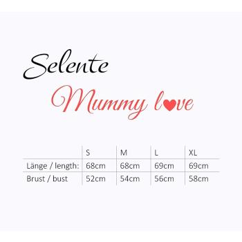 Selente Mummy Love 1479 Damen Umstands-/Stillpullover