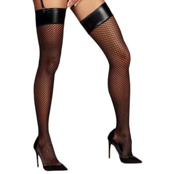 Obsessive Damen Straps-Strümpfe Darkie - sexy Reizwäsche
