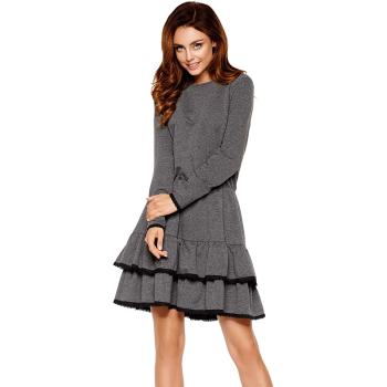 Lemoniade L273 Damen Winter-Kleid Langarm