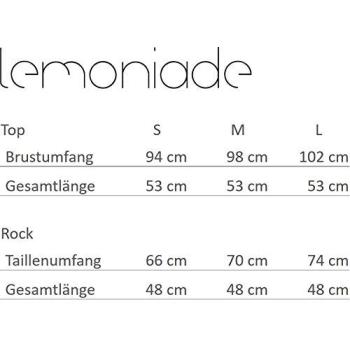 Lemoniade L238 Damen Set aus Rock und Bluse