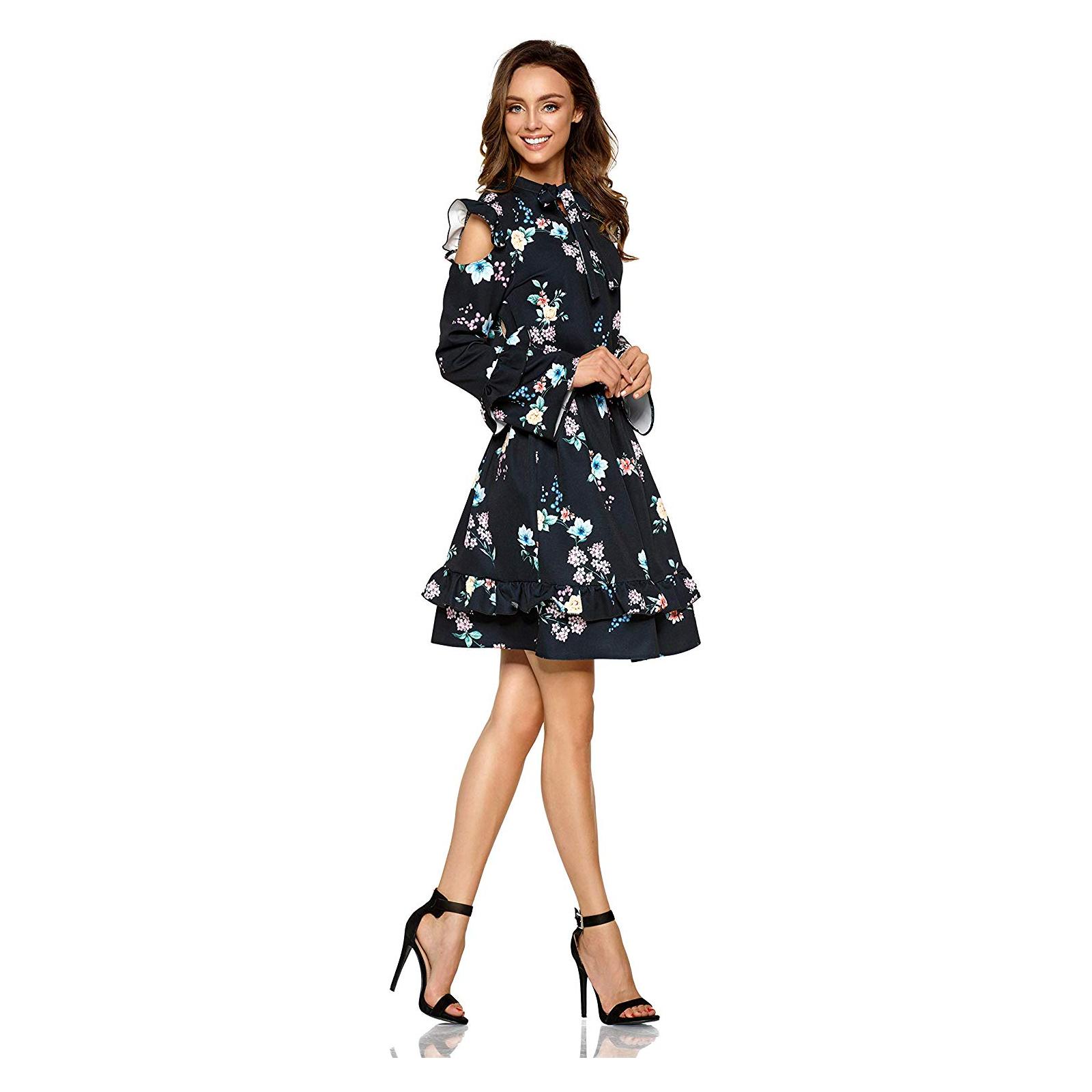 lemoniade elegantes damen kleid (made in eu) in kurz mit
