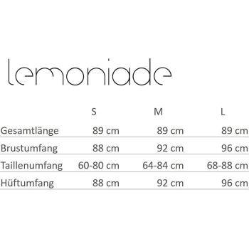Lemoniade L240 Damen Winter-Kleid Langarm mit Chiffon
