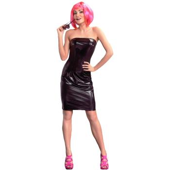 Me Seduce Xenia Damen  Wet-Look Club/Mini-Kleid (made in EU)