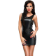 Me Seduce Lea Damen  Wet-Look Club/Mini-Kleid (made in EU)