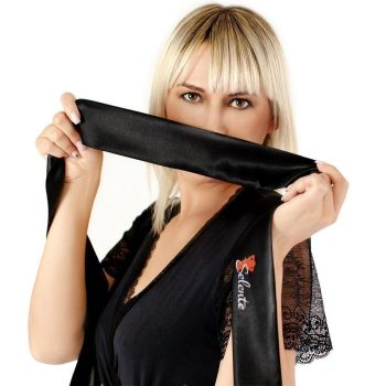 Me Seduce Yvette  Dessous-Set | Top/BH mit Kapuze & Panty