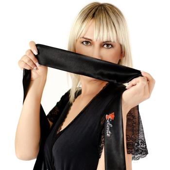 Obsessive Damen Ouvert Body 838 mit exklusiver Satin-Augenbinde