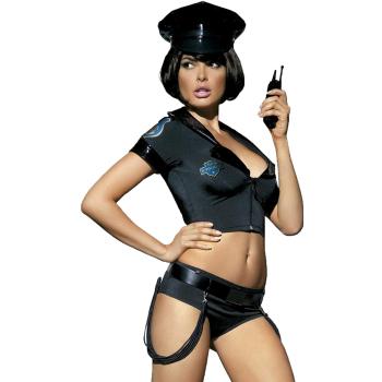 Obsessive Damen Polizei-Kostüm mit exklusiver...