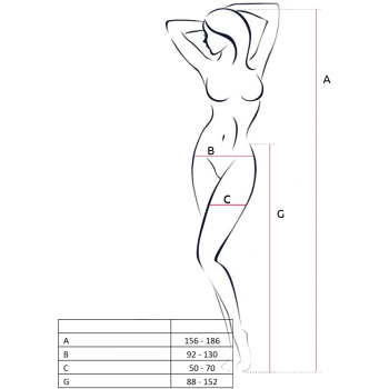 Passion S020 Damen Strapsgürtel-Strümpfe als praktische Kombination, made in Italy, Einheitsgröße, schwarz