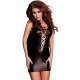 Passion Lizzy Damen Wet-Look Club/Mini-Kleid (Made in EU)
