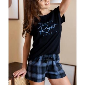 S& SENSIS Billie  Baumwoll-Pyjama Shorty