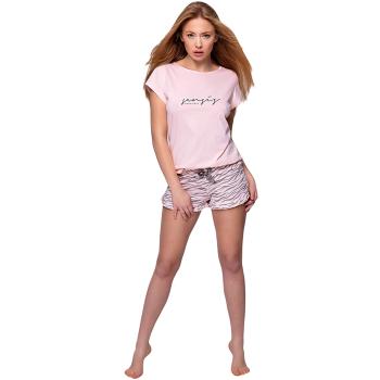 S& SENSIS Zebra  Baumwoll-Pyjama Schlafanzug Hausanzug