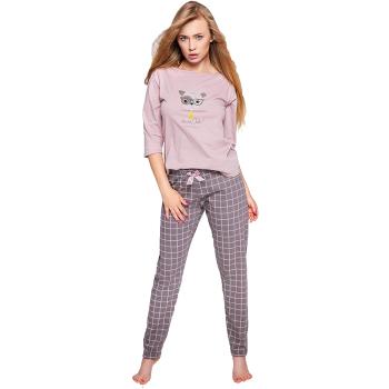 S& SENSIS Perro Damen  Baumwoll-Pyjama / Hausanzug