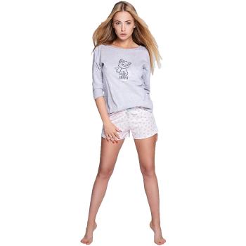 S& SENSIS Lievre Damen Nachtwäsche-Set aus Shirt...