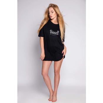 S& SENSIS Princes Damen Baumwoll-Nachthemd Sleepshirt, made in EU