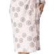 DOROTA FR198 Damen  Baumwoll-Bademantel mit Schalkragen