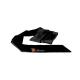 Livia Corsetti Beatriz Damen Ouvert-Bodystocking & Satin-Augenbinde, S/M/L, Schwarz